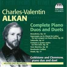 Charles Alkan (1813-1888): Klavierwerke für 2 Klaviere & Klavier 4-händig, CD