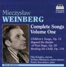 Mieczyslaw Weinberg (1919-1996): Sämtliche Lieder Vol.1, CD