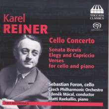Karel Reiner (1910-1979): Cellokonzert op.34, Super Audio CD