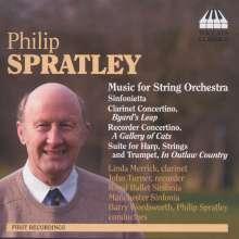 Philip Spratley (geb. 1942): Musik für Streichorchester, CD