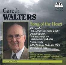 Gareth Walters (geb. 1928): Liederzyklen & Kammermusik, CD