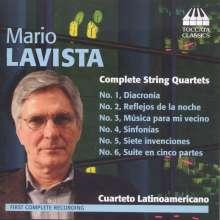 Mario Lavista (geb. 1943): Streichquartette Nr.1-6, CD