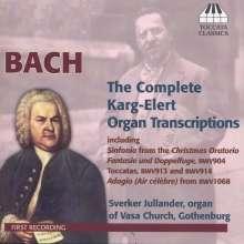 Sigfrid Karg-Elert (1877-1933): Bach-Transkriptionen für Orgel, CD