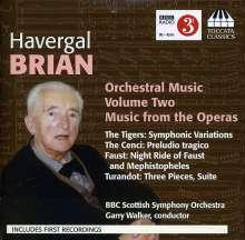 Havergal Brian (1876-1972): Orchesterwerke Vol.2, CD