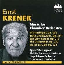 Ernst Krenek (1900-1991): Werke für Kammerorchester, CD