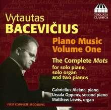 Vytautas Bacevicius (1905-1970): Klavierwerke Vol.1, CD