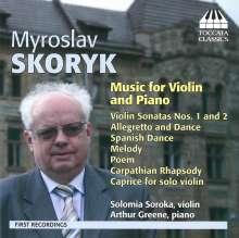 Myroslaw Skoryk (1938-2020): Werke für Violine & Klavier, CD