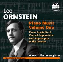 Leo Ornstein (1892-2002): Klavierwerke Vol.1, CD