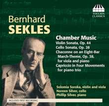 Bernhard Sekles (1872-1934): Kammermusik, CD