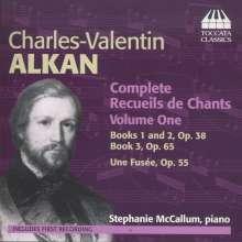 Charles Alkan (1813-1888): Recueils de Chants Vol.1, CD