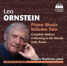 Leo Ornstein (1892-2002): Klavierwerke Vol.2, CD
