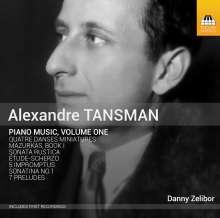 Alexandre Tansman (1897-1986): Klavierwerke Vol.1, CD