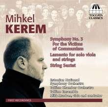 Mihkel Kerem (geb. 1981): Symphonie Nr.3, CD