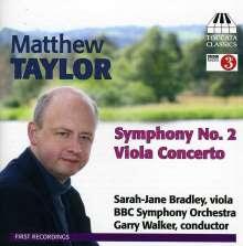 Matthew Taylor (geb. 1964): Symphonie Nr.2, CD