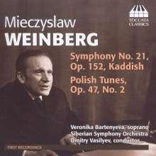 Mieczyslaw Weinberg (1919-1996): Orchesterwerke Vol.1, CD