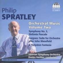 Philip Spratley (geb. 1942): Orchesterwerke Vol.2, CD