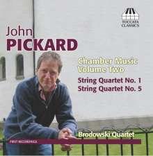 John Pickard (geb. 1963): Kammermusik Vol.2, CD