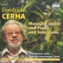 Friedrich Cerha (geb. 1926): Kammermusik mit Violine, CD