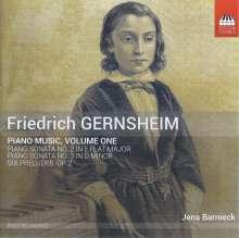 Friedrich Gernsheim (1839-1916): Klavierwerke Vol.1, CD