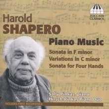 Harold Shapero (1920-2013): Klavierwerke, CD