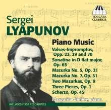 Sergei Lyapunov (1859-1924): Klavierwerke, CD