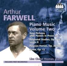 Arthur Farwell (1872-1952): Klavierwerke Vol.2, CD