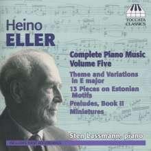 Heino Eller (1887-1970): Sämtliche Klavierwerke Vol.5, CD