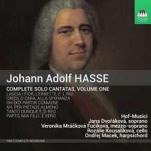 Johann Adolph Hasse (1699-1783): Sämtliche Solo-Kantaten Vol.1, CD