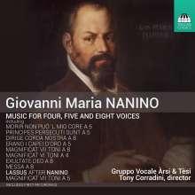 Giovanni Maria Nanino (1544-1607): Messe für 8 Stimmen, CD