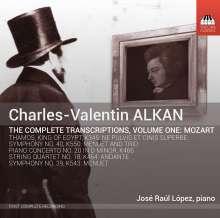 Charles Alkan (1813-1888): Sämtliche Transkriptionen Vol.1 - Mozart, CD