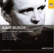 Adolf Busch (1891-1952): Sämtliche Klavierwerke, CD