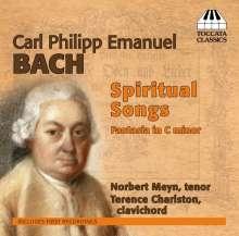 Carl Philipp Emanuel Bach (1714-1788): Gellert-Oden (Ausz.), CD