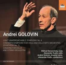 Andrei Golovin (geb. 1950): Orchesterwerke, CD
