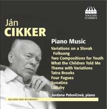 Jan Cikker (1911-1990): Klavierwerke, CD