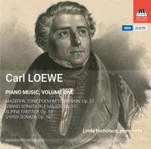 Carl Loewe (1796-1869): Klavierwerke Vol.1, CD