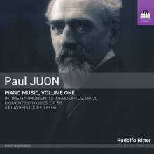 Paul Juon (1872-1940): Klavierwerke Vol.1, CD