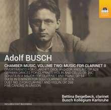 Adolf Busch (1891-1952): Kammermusik Vol.2, CD