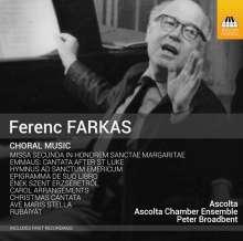 Ferenc Farkas (1905-2000): Chorwerke, CD