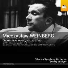 Mieczyslaw Weinberg (1919-1996): Orchesterwerke Vol.2, CD