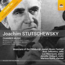 Joachim Stutschewsky (1891-1982): Kammermusik, CD