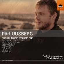 Pärt Uusberg (geb. 1986): Chormusik Vol.1, CD