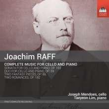 Joachim Raff (1822-1882): Sämtliche Werke für Cello & Klavier, CD