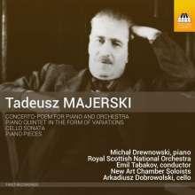 Tadeusz Majerski (1888-1963): Concerto-Poem für Klavier & Orchester, CD