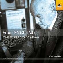 Einar Englund (1916-1999): Sämtliche Klavierwerke, CD