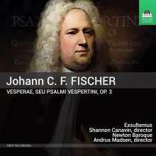 Johann Caspar Ferdinand Fischer (1656-1746): Vesperae op.3, CD