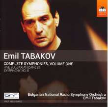 Emil Tabakov (geb. 1947): Sämtliche Symphonien Vol.1, CD