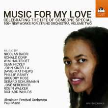 Music For My Love Vol.2 - Celebrating The Life Of Someone Special, CD