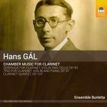 Hans Gal (1890-1987): Kammermusik mit Klarinette, CD