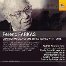 Ferenc Farkas (1905-2000): Kammermusik mit Flöte, CD