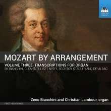 Wolfgang Amadeus Mozart (1756-1791): Mozart by Arrangement Vol.2 - Arrangements für 2 Orgel, CD